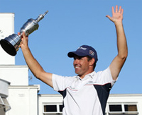 2008 British Open Results: Padraig Harrington winner, Ian Polter second