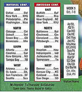 2008 NFL Schedule: Two international games included