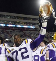 Arkansas vs. LSU: College football point spread and odds