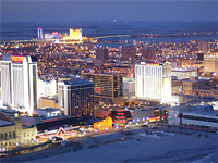 Atlantic City casinos revenue decline