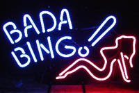 "Sopranos club ""Bada Bing"" selling off stripper poles and more"