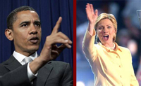 Clinton and Obama prepare for the primaries, so are the punters