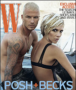 Posh and Beckham magazine photos, how 'bout some football?
