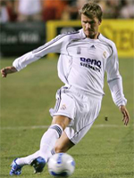David Beckham leaves Real Madrid with Spanish title