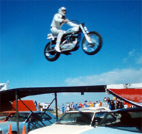 Evel Knievel and Kanye West end the beef