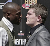 Bet on the fight: Ricky Hatton odds, Floyd Mayweather odds