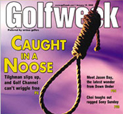 Golfweek magazine fires editor over noose cover