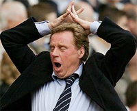 Arrested Portsmouth manager Harry Redknapp denies involvement