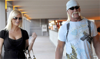 Hulk Hogan with new girlfriend Jennifer McDaniel