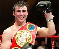 Joe Calzaghe wins the BBC Sports Personality of the Year Award