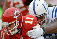 NFL Playoffs Odds: Kansas City Chiefs vs. Indianapolis Colts line and spread