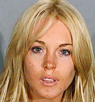 Lindsay Lohan puts 84 minutes in jail and walks free