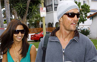 Matthew McConaughey to be a father, David Spade could be too