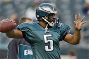 McNabb questionable to play against the Patriots