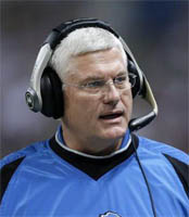 Detroit Lions fire Mike Martz after two years on the job