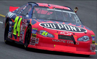 NASCAR sends Jeff Gordon and Jimmie Johnson at the back