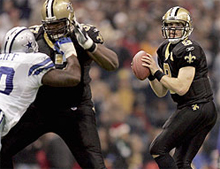 New Orleans Saints football betting odds