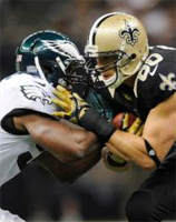 New Orleans Saints vs. Philadelphia Eagles: Line and Point spread (Playoffs)