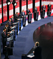Republican debate in Iowa did not let Barack Obama off the hook