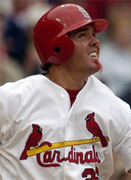 Scott Spiezio cut by the St. Louis Cardinals after police warrant issued