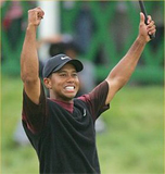 Tiger Woods wins at the Firestone