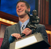 Tim Tebow is the winner of the 2007 Heisman Trophy