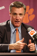 Tommy Bowden will remain at Clemson