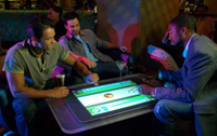Las Vegas casino debuts new touch-screen Microsoft table