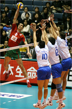 Volleyball World League 2007 and odds to win