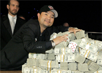 Jerry Yang wins the 2007 World Series of Poker