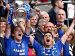 Chelsea won the FA Cup beating Manchester United