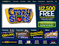 New online casino for slots fans: Crazy Slots online casino