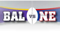Point Spread: Baltimore Ravens vs. New England Patriots odds, line