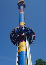 Six Flags Accident at Superman Tower of Power in Kentucky