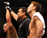 UFC 72 results and winners, Franklin and Okami
