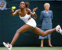 Venus Williams ahead to play Maria Sharapova